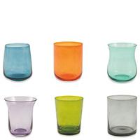Набор стеклянных стаканов Villa D'este Cromia 6шт, фото