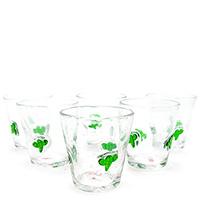 Набор стаканов Villa D'este Hawaii Cactus 6шт, фото