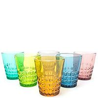 Набор стаканов Villa D'este Pixel 6шт, фото