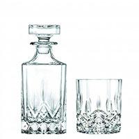 Набор из декантера и двух бокалов для виски RCR Opera, фото