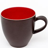 Чашка Bastide Etna черно-красного цвета, фото