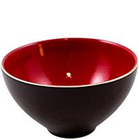 Пиала суповая Bastide Etna черно-красная, фото