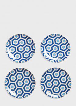 Набор из 4-х десертных тарелок Jonathan Adler Newport 16,5см, фото