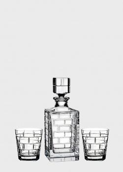 Набор для виски Rogaska Quoin из 3 предметов, фото