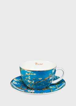 Чашка с блюдцем Goebel Artis Orbis Almond Tree 0,25л, фото