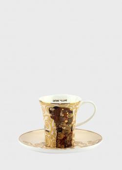 Чашка с блюдцем Goebel Artis Orbis Fulfilment 8см, фото