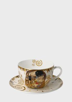 Чашка с блюдцем для чая Goebel Artis Orbis Поцелуй 0,5л, фото