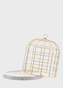 Декоративный поднос Seletti Клетка для птицы 34х36см , фото