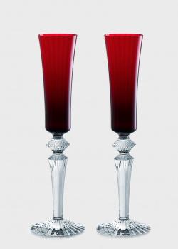 Набор бокалов для шампанского Baccarat Mille Nuits 2шт, фото
