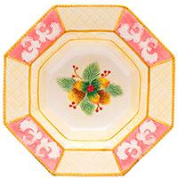 Восьмиугольное блюдо Palais Royal Розовая фантазия, фото