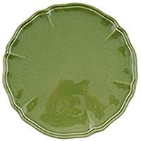 Набор подставных тарелок Villa Grazia Яркое лето зеленого цвета на 6 персон, фото