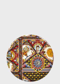 Блюдо Palais Royal Santa Rosalia 36см декорировано рисунком, фото