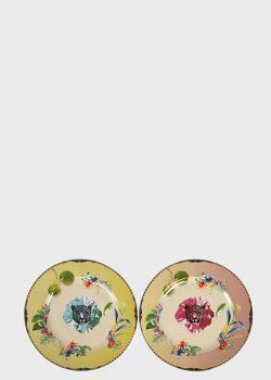Набор из 2-х десертных тарелок Palais Royal Ete Savage 19см, фото