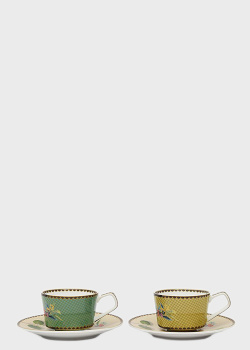 Набор кофейных чашек с блюдцами Palais Royal Ete Savage 4пр, фото