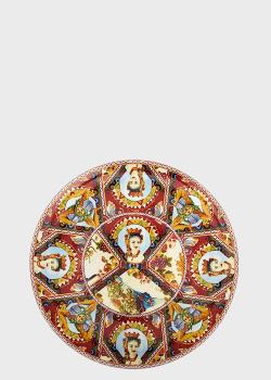 Тортовница Palais Royal Santa Rosalia 33см в этническом стиле, фото