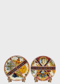 Набор из 2-х десертных тарелок Palais Royal Santa Rosalia 19см, фото
