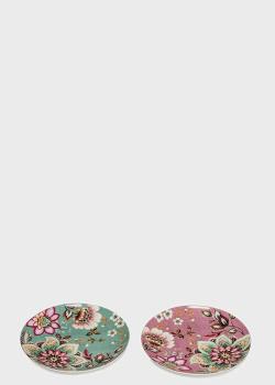 Набор из 2-х десертных тарелок  Palais Royal Fleurs 19см, фото