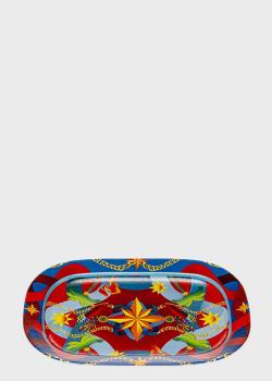Блюдо Palais Royal Mediterraneo 44см с изображением звезды, фото