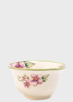 Пиала Bizzirri Samantha 8,5см с цветочным рисунком, фото