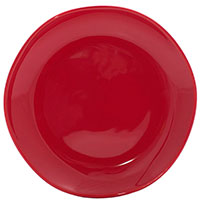 Набор десертных тарелок Comtesse Milano Ritmo на 6 персон красного цвета, фото