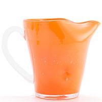 Стеклянный кувшин Comtesse Milano Samoa оранжевого цвета, фото