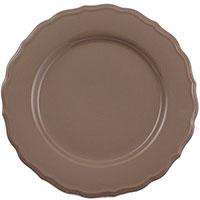 Набор из 6 тарелок Comtesse Milano Claire коричневого цвета, фото