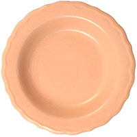 Набор из глубоких тарелок Comtesse Milano Claire розового цвета, фото