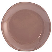 Десертная тарелка Comtesse Milano Ritmo коричнево-серого цвета, фото