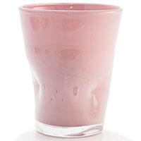 Набор стеклянных стаканов Comtesse Milano Samoa розового цвета, фото