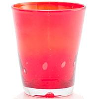 Набор стеклянных стаканов Comtesse Milano Samoa красного цвета, фото