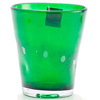 Набор стеклянных стаканов Comtesse Milano Samoa зеленого цвета, фото