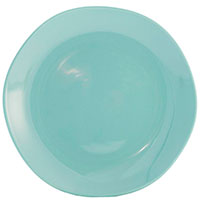Набор на 6 персон Comtesse Milano Ritmo из обеденных тарелок бирюзового цвета, фото
