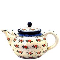 Чайник Ceramika Artystyczna Чайная роза, фото