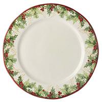Тарелка обеденная Bizzirri Символы Рождества, фото