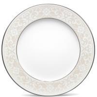 Тарелка Noritake Montvale Platinum для салата из фарфора 213мм , фото