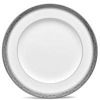 Тарелка для салата Noritake Odessa Platinum из фарфора 210мм , фото