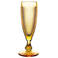 Бокал Vista Alegre Bicos 110мл для шампанского в желтом цвете, фото