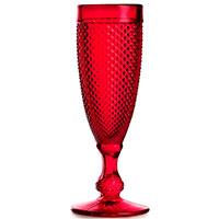 Бокал Vista Alegre Bicos 110мл для шампанского красного цвета, фото