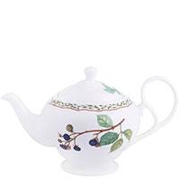 Заварочный чайник Noritake Orchard Garden белого цвета из фарфора, фото