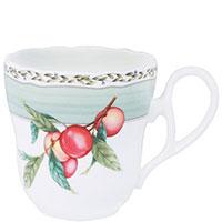 Чашка Noritake Orchard Garden с изображением персика из фарфора , фото