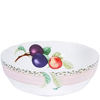 Тарелка Noritake Orchard Garden для супа из фарфора, фото
