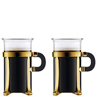 Набор кружек Bodum Chambord 2 шт золотистого цвета для кофе, фото