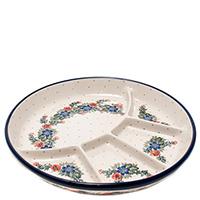 Менажница Ceramika Artystyczna круглая на 5 секций, фото