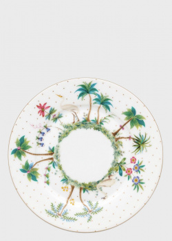 Фарфоровая тарелка Pip Studio Jolie Dots Gold 17см, фото