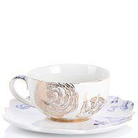 Чашка с блюдцем Pip Studio Royal White 225 мл, фото