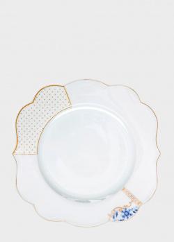 Тарелка из фарфора Pip Studio Royal White 28см, фото