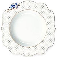 Суповая тарелка Pip Studio Royal White белого цвета 23,5см, фото