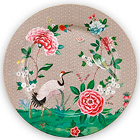Фарфоровая тарелка Pip Studio Blushing Birds 32см, фото