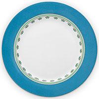 Тарелка Pip Studio La Majorelle с синим орнаментом 26,5см, фото