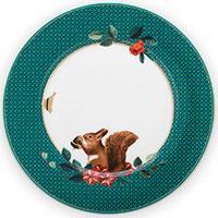 Тарелка Pip Studio Winter Wonderland Squirrel 17см, фото